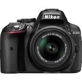 Câmera D5300 Kit 18-55mm Vr Pronta Entrega Lojista Promoção