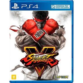 Jogo Ps4 Street Fighter V (usado) Midia Fisica
