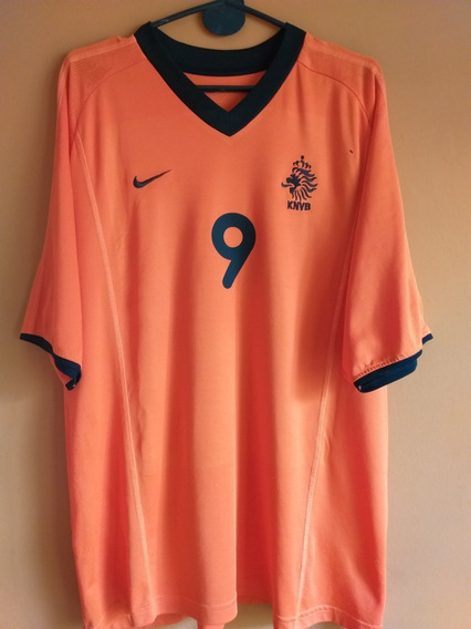 Camiseta De Holanda #9 Kluivert