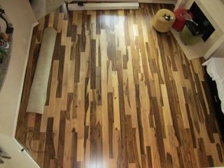 Medidor De Espessuras Em Madeira, 12mm Brazilian Pecan Laminate Flooring