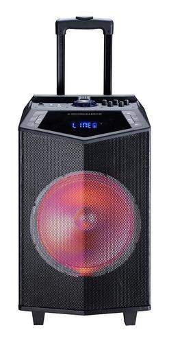Parlante Karaoke Con Luces 40w Rms Tagwood