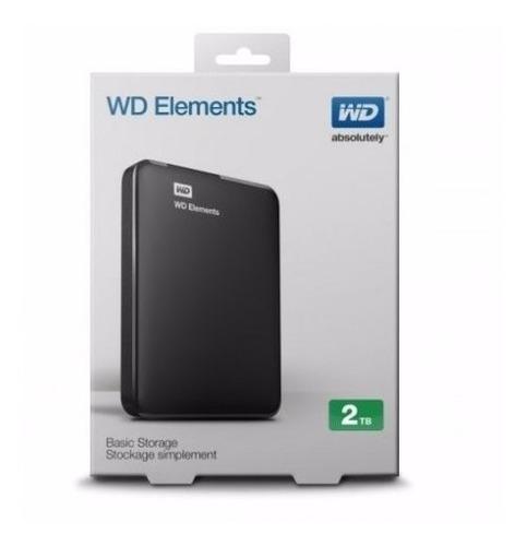 Disco Duro Externo Western Digital-2tb, Usb 3.0-envio Gratis