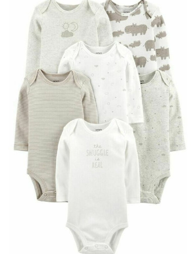 Set Bodies Mamelucos Niño Carters Original 17637410