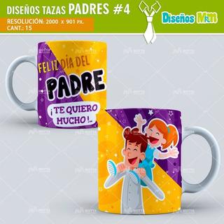 Plantillas Para Tazas Mug Dia Del Padre Versión 4