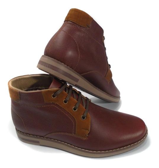 Zapatos Apaches Bosi Hombre Zapatos para Hombre Bordó en