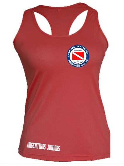 Musculosa De Mujer Argentinos Juniors