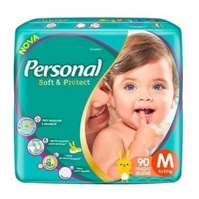 Fralda Infantil Personal Hiper 3 Pacotes Tamanho M