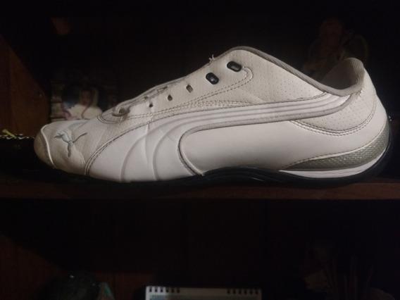 Zapatillas Puma Blancas Suela Negra