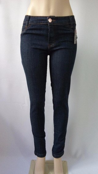 Calça Jeans Feminina Skinny Cintura Média