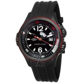 Relógio Suíço Hamilton Khaki Navy Gmt H77585335 Automático