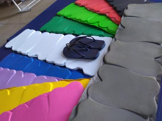 Kit De 3s Placas Anabela 100% Borracha Sbr