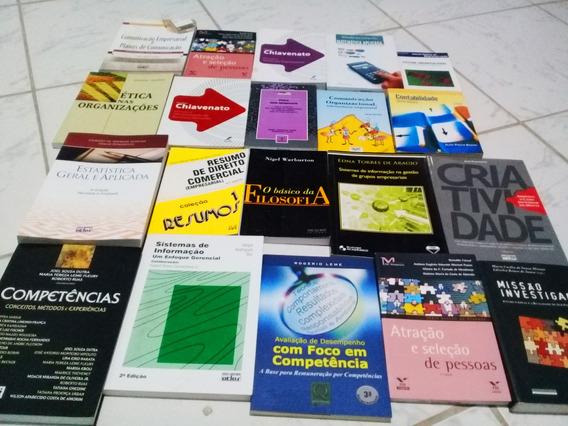 Livro Administração Pack Com Aprx 34 Titulos