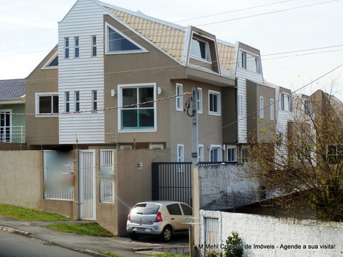 Sobrado Em Condomínio Com 3 Dormitórios À Venda Com 141m² Por R$ 600.000,00 No Bairro Boa Vista - Curitiba / Pr - M2bv-sfdv4