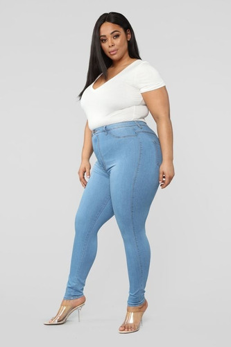 Jeans Mujer Talles Grandes Loquierotodo