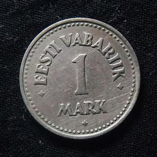 Estonia 1 Marc 1922 Exc Km 1 Escasa