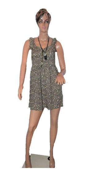 47 Street Vestido De Fibrana Con Estampado Promo