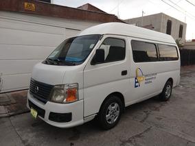 Nissan Urvan 2012 Capacidad Para 15 Pasajeros