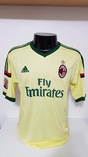 Camisa Milan 3rd 13-14 Honda 10 Patch Calcio Importada