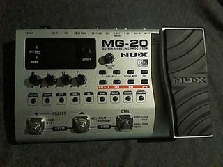 Pedal Nu-x Mg20