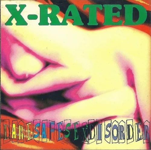 Imagem 1 de 1 de Cd X-rated Daresafesexdisorder Polvo Discos Made Us 93 Novo