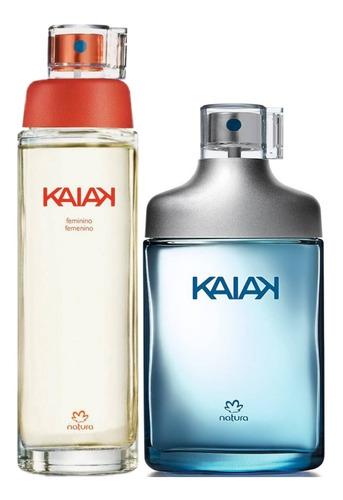 Perfume Kaiak Femenina + Kaiak Caballer - mL a $639