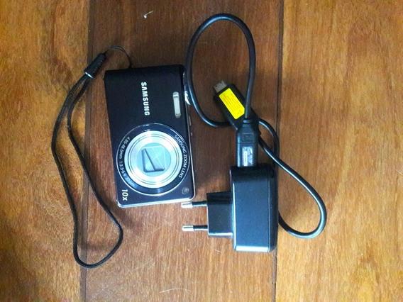 Câmera Samsung 10mpx/ 10xzoom + Carregador
