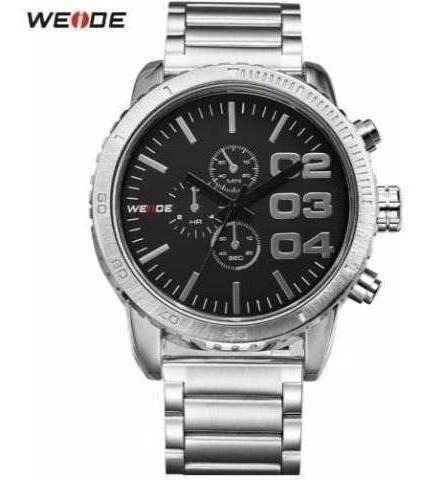 Relógio Weide Masculino Wh3310 Estilo Militar + Frete Grátis