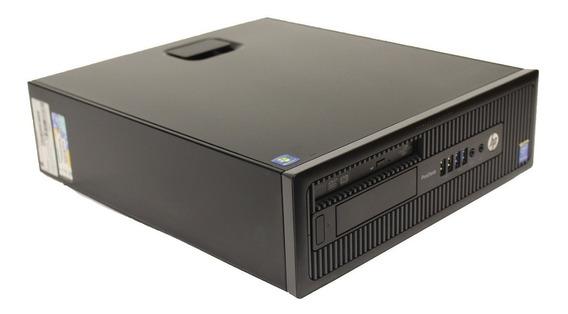 Computador Hp Prodesk 600 G1 Intel Dual Core G3250 4gb 500gb