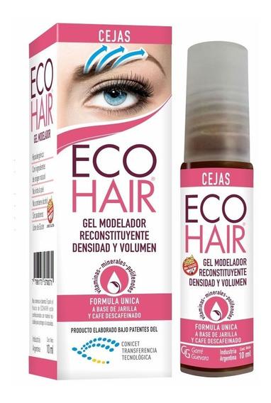 Eco Hair Gel Modelador Reconstituyente Para Cejas 10ml