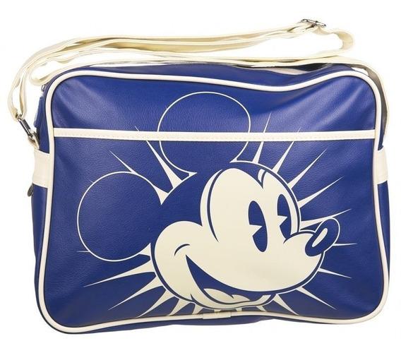 Mochila Messenger Mickey Disney Retro 100% Original