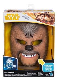 Mascara Electrónica De Chewbacca Star Wars - Hasbro