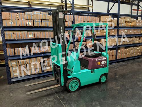 Imagen 1 de 4 de Autoelevador Mitsubishi Nafta 1000 Kg Autom 3.70 Mts Compact