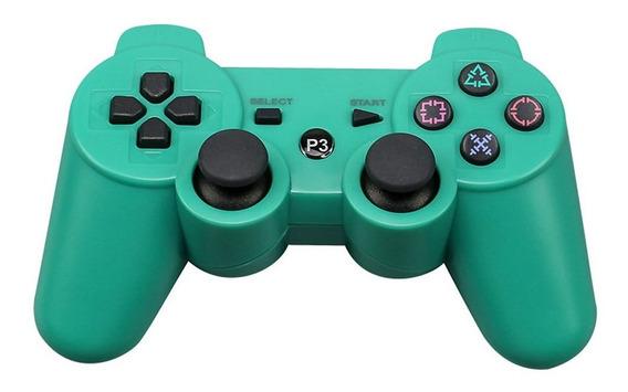 Para Sony Ps3 Sem Fio Bluetooth Controlador De Jogo Azul