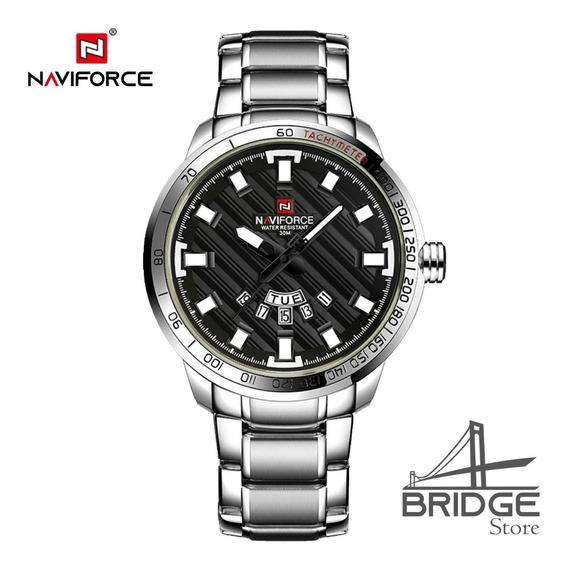 Relógio Masculino Naviforce 9090 Resistente A Água Original