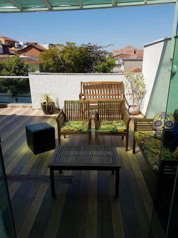 Imagem 1 de 20 de Cobertura Com 2 Dormitórios À Venda, 92 M² Por R$ 446.000 - Bangu - Santo André/sp - Co0161