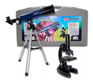 Telescopio Braun Microscopio Kit Mtk