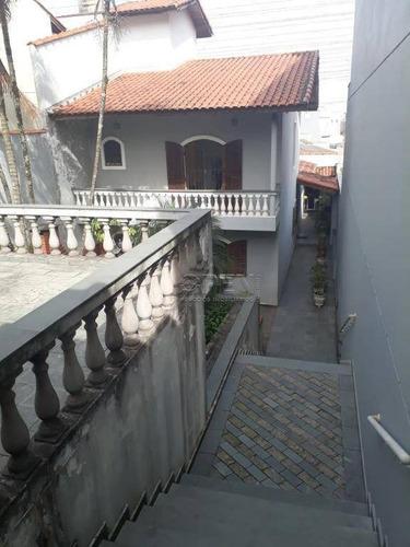 Casa Com 4 Dormitórios À Venda, 257 M² Por R$ 1.205.000,00 - Vila Scarpelli - Santo André/sp - Ca0594