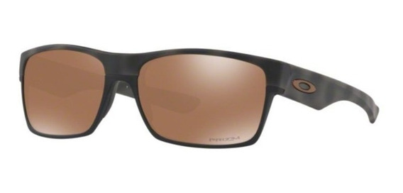 Oculos Sol Oakley Two Face Oo9189 4060 Camuflad Marrom Prizm