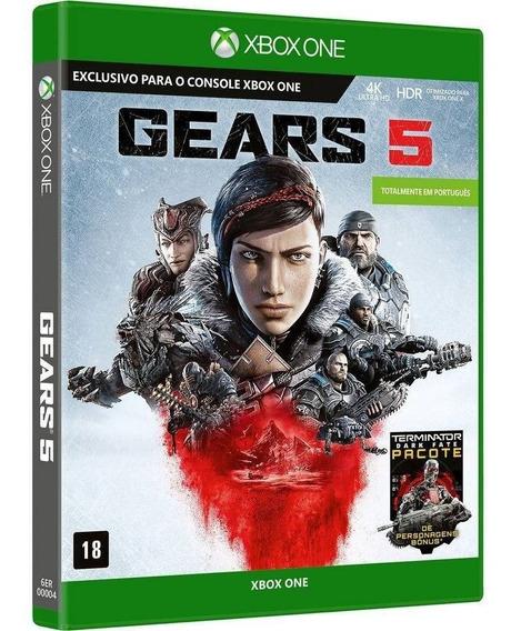 Gears Of War 5 Xbox One 100% Em Português Midia Fisica