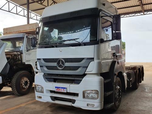 Mercedes-benz Axor 2536 6x2 Ano 2016 Teto Alto