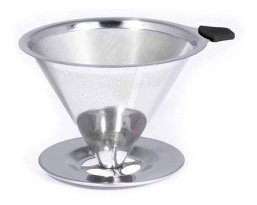 Imagem 1 de 2 de Pour Over Coador Bialetti Em Aço Inox Bialetti Italiano