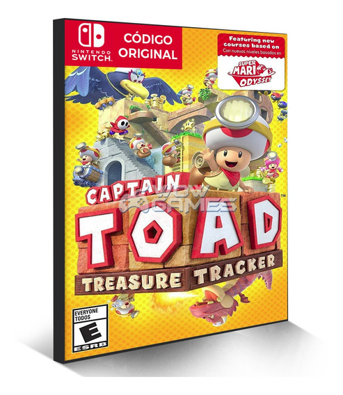 Captain Toad Treasure Tracker - Nintendo Switch Código Eshop