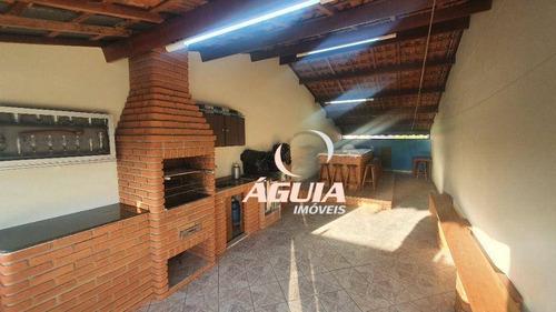 Imagem 1 de 27 de Sobrado Com 3 Dormitórios À Venda, 179 M² Por R$ 650.000,00 - Parque Capuava - Santo André/sp - So1590