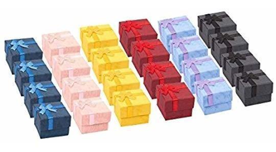 Juego De Cajas De Regalo De 24 Piezas: Caja Joyero