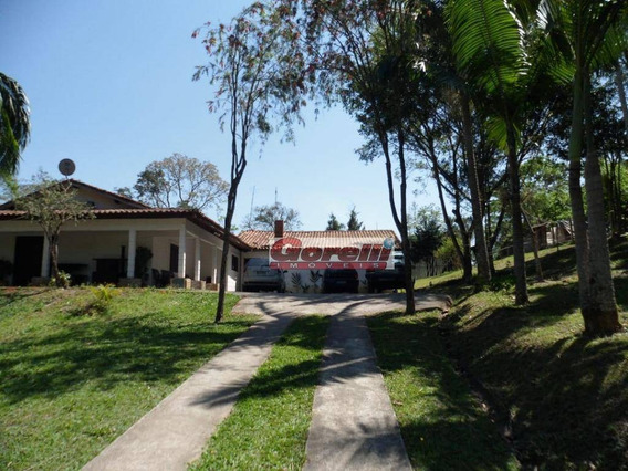 Chácara Com 5 Dormitórios À Venda, 10000 M² Por R$ 650.000 - São Domingos - Arujá/sp - Ch0094