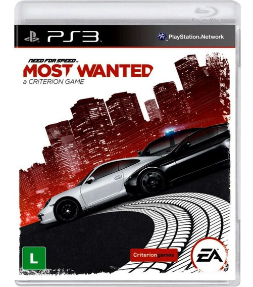 Need For Speed Most Wanted Ps3 Usado