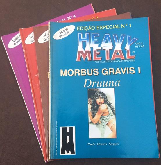 Druuna, Heavy Metal Quadrinhos, Edição Especial Em 4 Edições