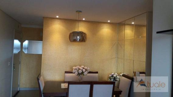 Apartamento Com 2 Dormitórios À Venda, 57 M² - Bonfim - Campinas/sp - Ap6411