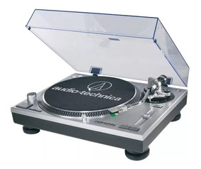 Toca Discos Audio Technica At-lp 120 Usb/novo Na Caixa Prata