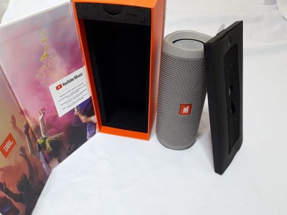 Caixa De Som Jbl Flip 4 Preta Caixa Bluetooth Portátil